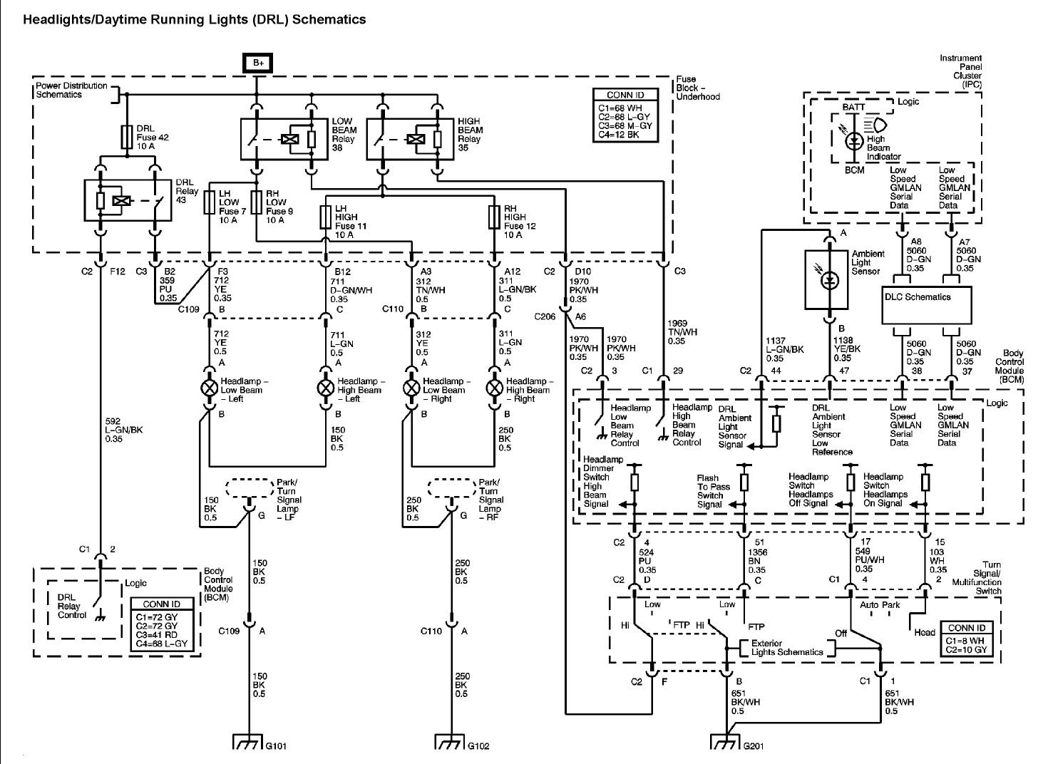 Pontiac G6 Stereo Wiring Diagram