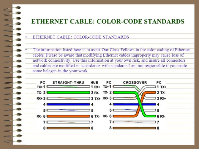 rj45 wiring diagram power over ethernet  intermediate