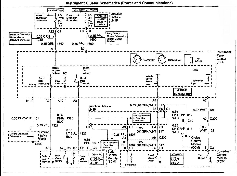 Chevy Malibu Electrical Wiring Diagram