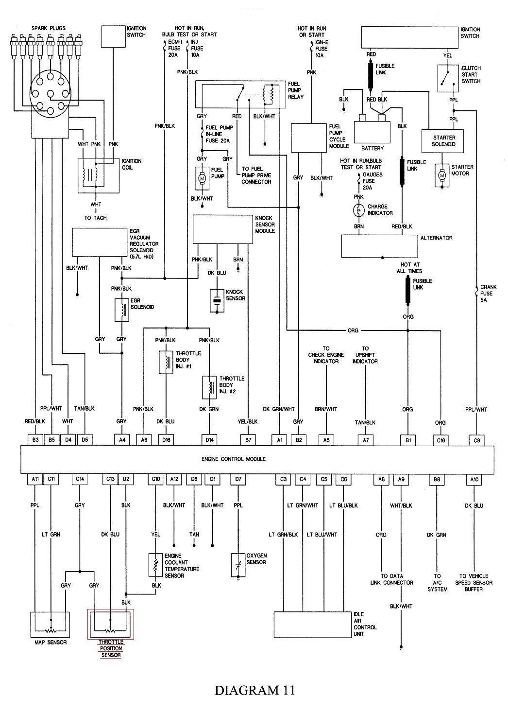 Kc 4 3 Chevy Tbi Ecm Wiring Diagram Schematic Wiring