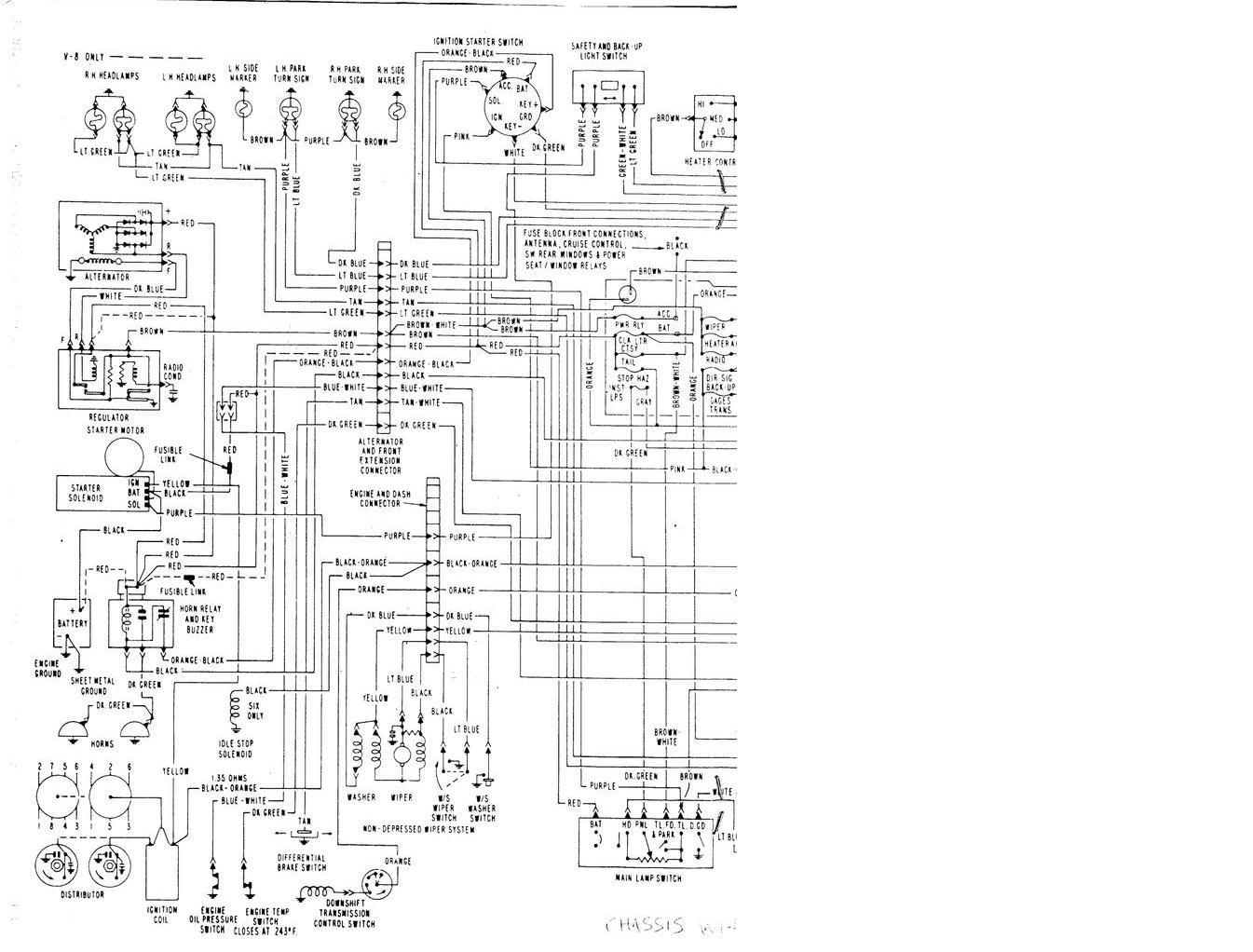 Wiring Diagram 455 Olds