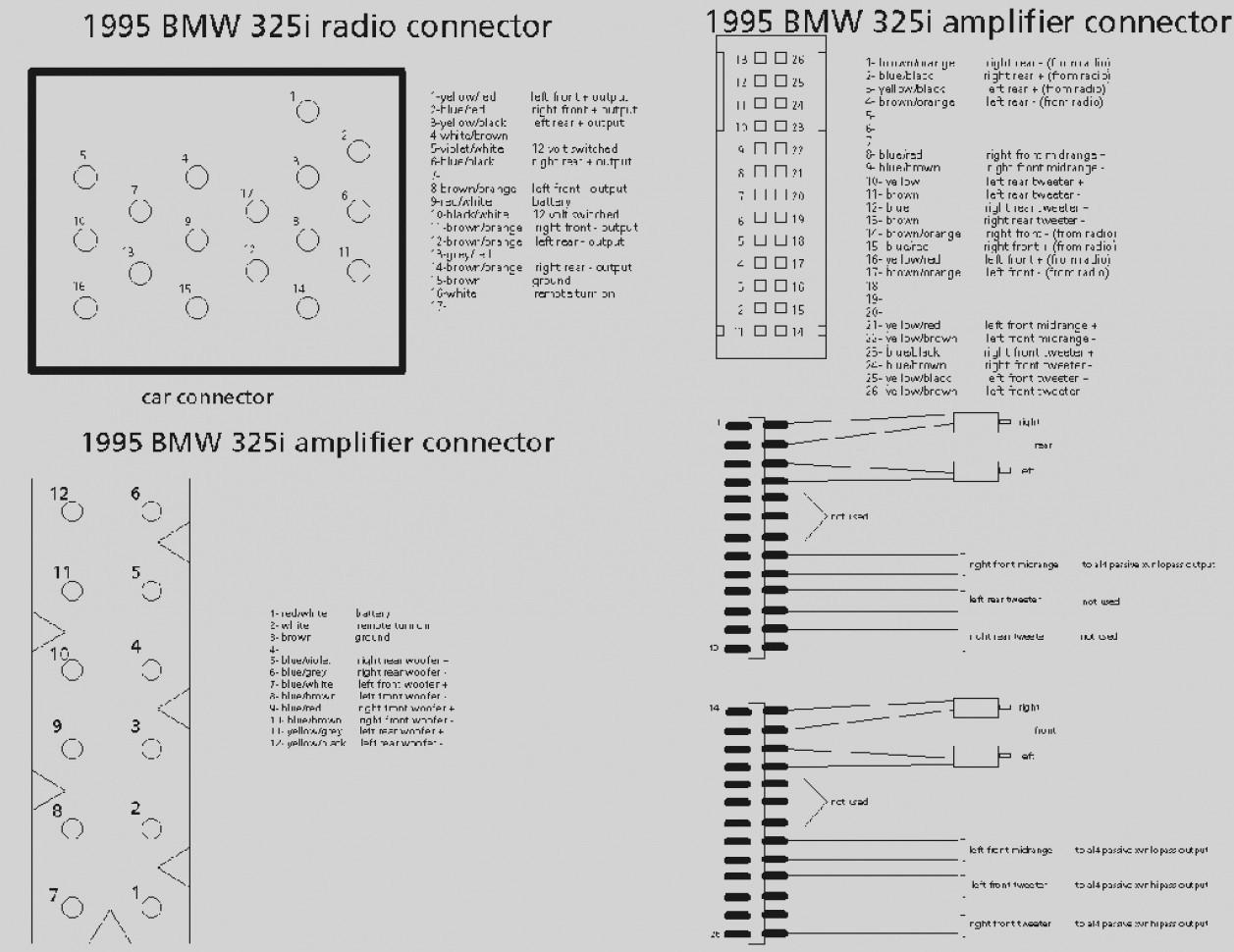 E39 Wiring Diagram Radio