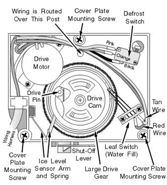 kitchenaid ice maker wiring diagram  three speed fan switch