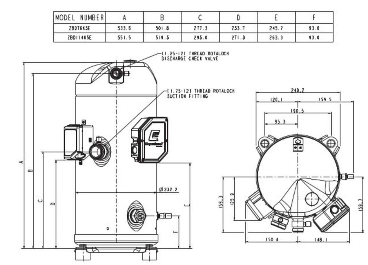 Copeland Hermetic Compressor Wiring Diagram