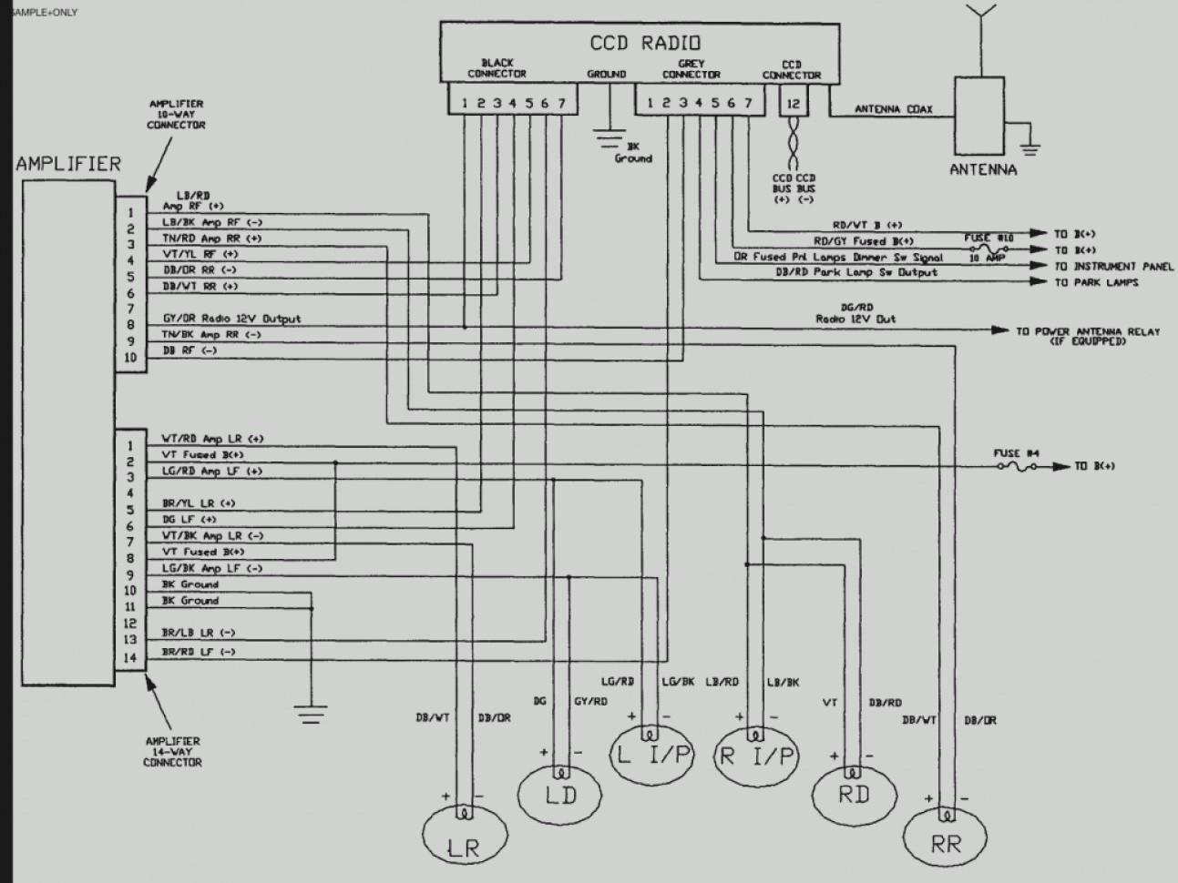 Jeep Speaker Wiring Diagram