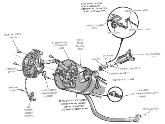 🏆 diagram in pictures database 65 mustang column wiring