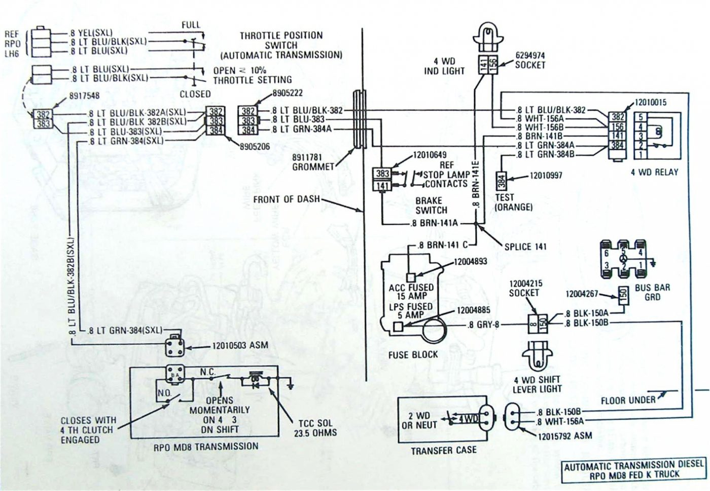 Dy 4l60 To 4l80 Wiring Diagram Download Diagram