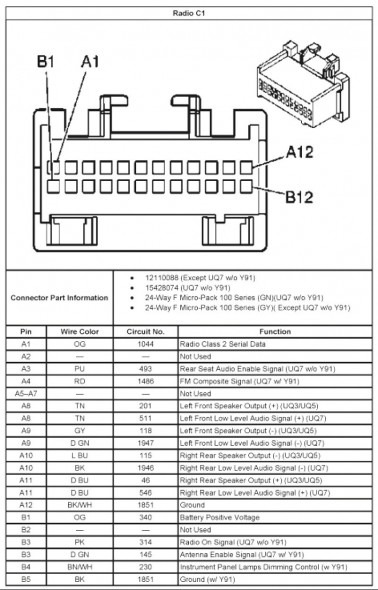 2005 chrysler pacifica radio wiring diagram  auto wiring