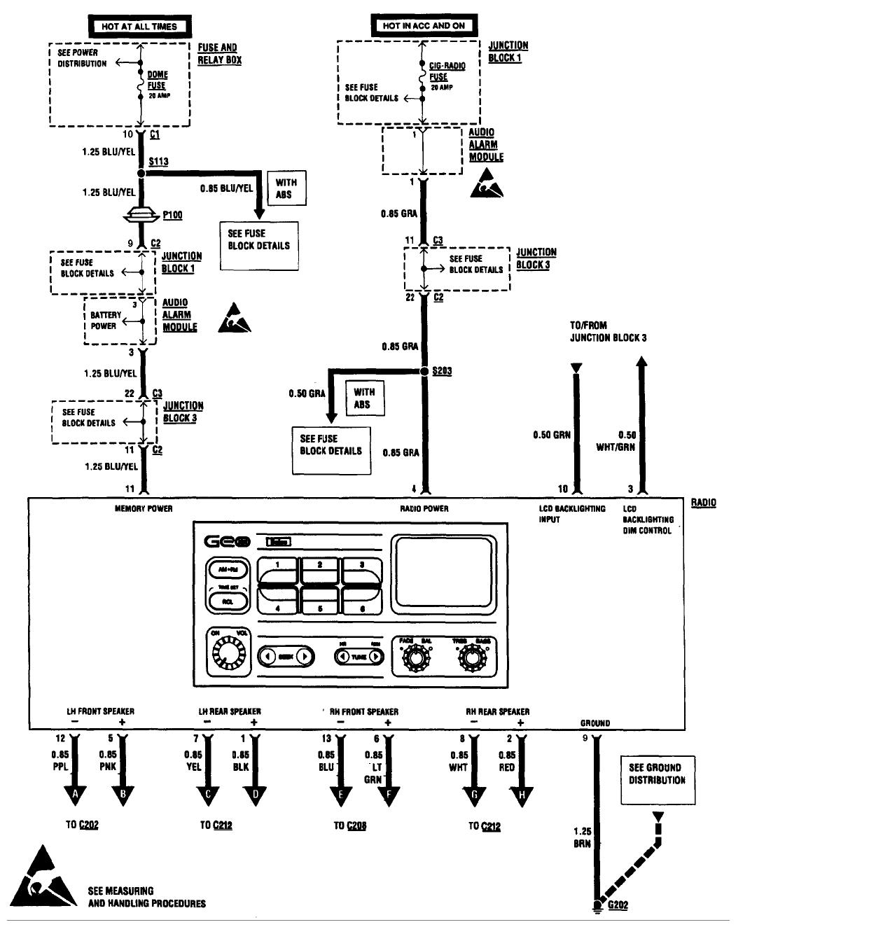Mazda 121 Metro Radio Wiring Diagram