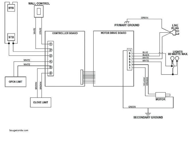 fc9237 genie garage door opener wiring diagram besides