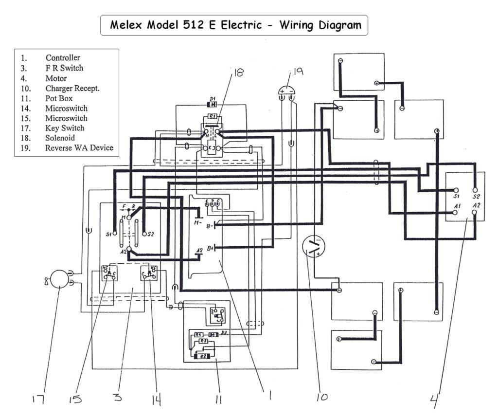 Yamaha Golf Cart Electrical Wiring Diagram