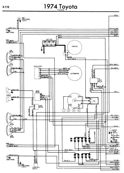 1974 toyota hilux wiring zinsco fuse box  begeboy wiring