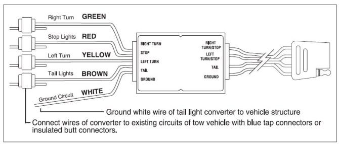 an6987 trailer light wiring diagram 5 wire wiring diagram
