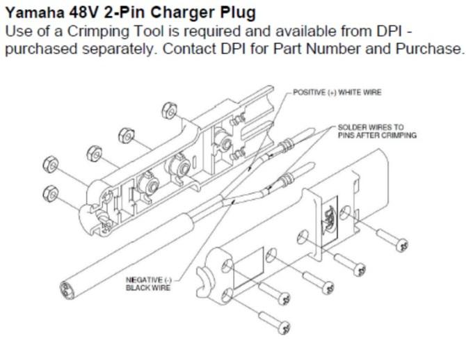 nw4928 old yamaha electric golf cart battery diagram