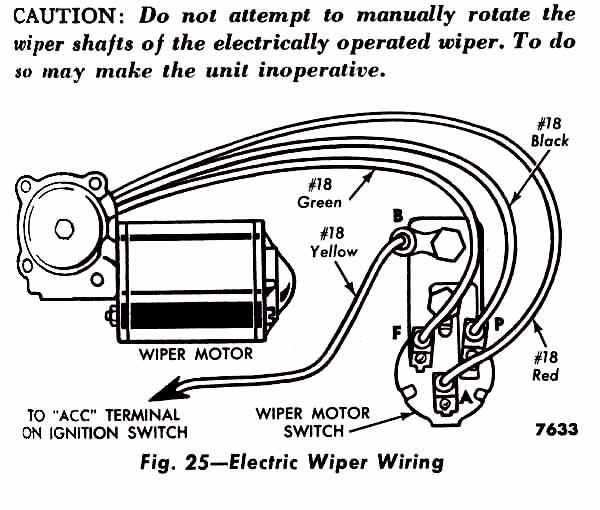 jeep wrangler wiper motor wiring diagram  mercury