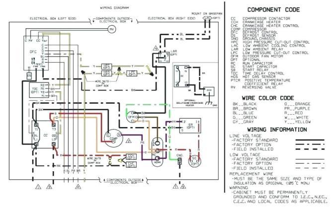 heat pump condenser fan wiring diagram  ac box wiring
