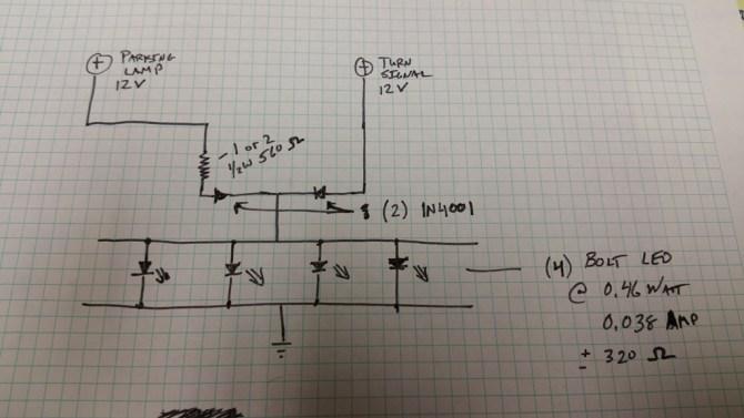 xn9592 12v led turn signal wiring download diagram