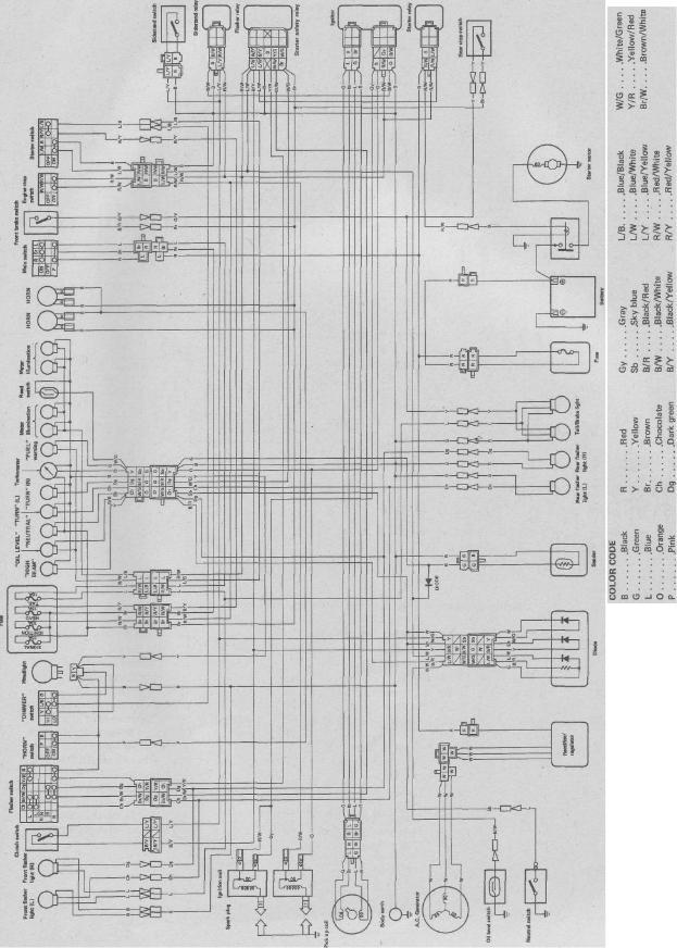 yamaha virago 750 wiring diagram auto wiring splice kits