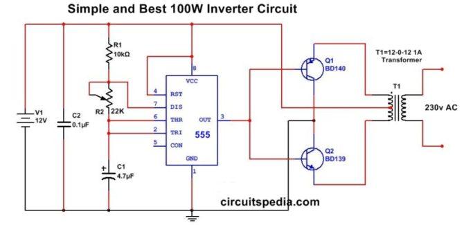 simple inverter wiring diagram 2002 toyota highlander