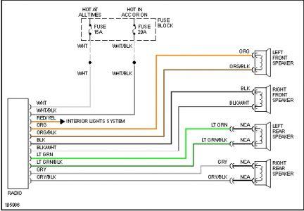 06 pontiac g6 headlight wiring harness  wiring diagram