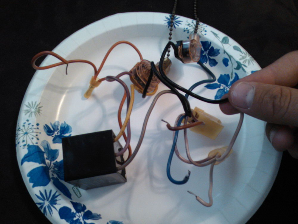 Ceiling Fan Motor Capacitor Wiring