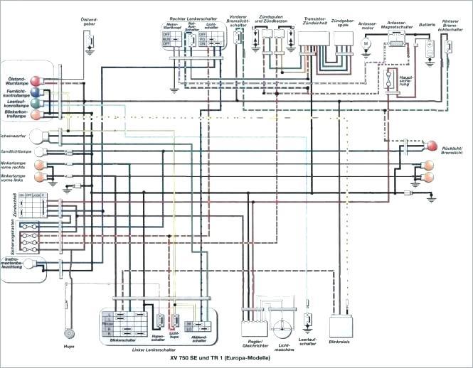 1983 yamaha virago 500 wiring diagram  wiring diagrams page