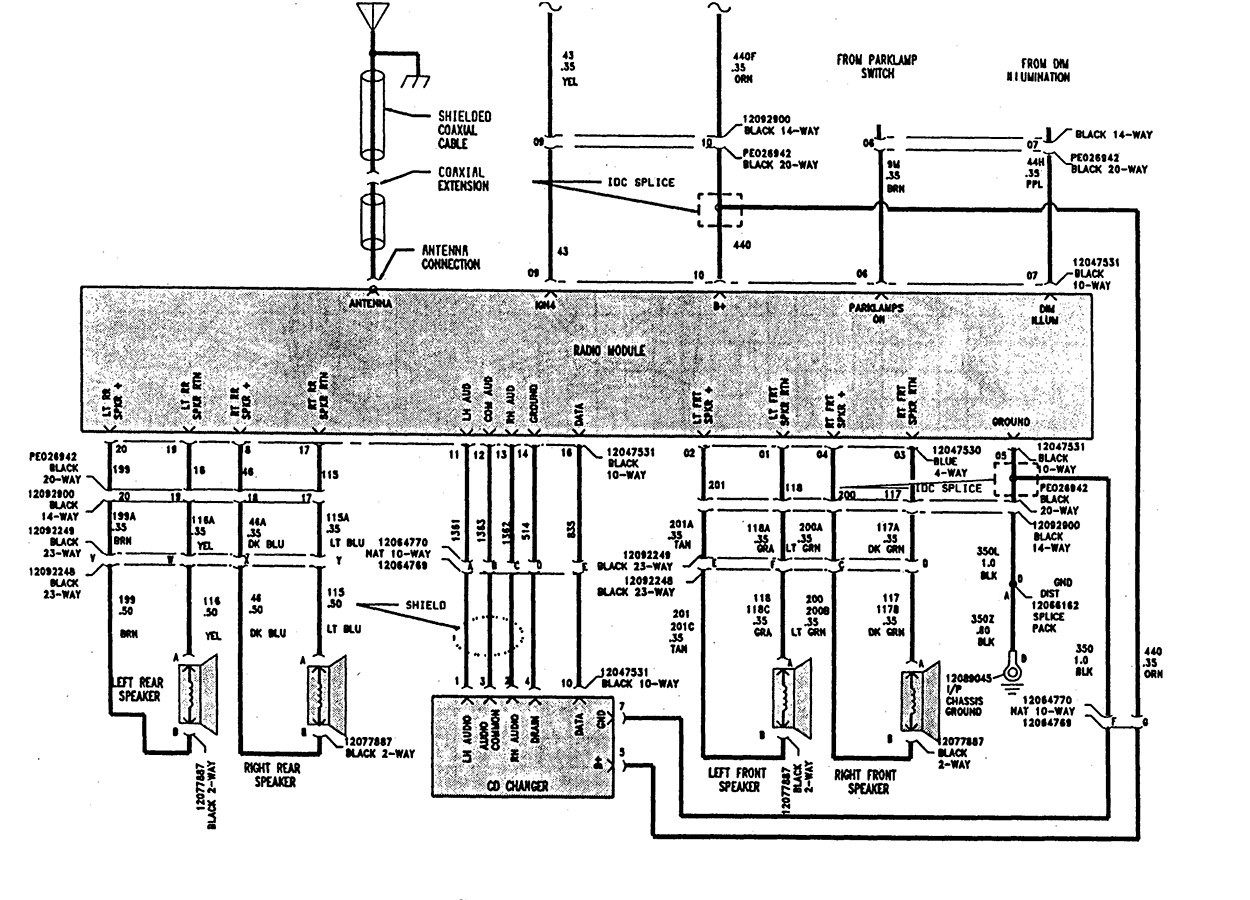 Saturn Ion Electrical Schematic