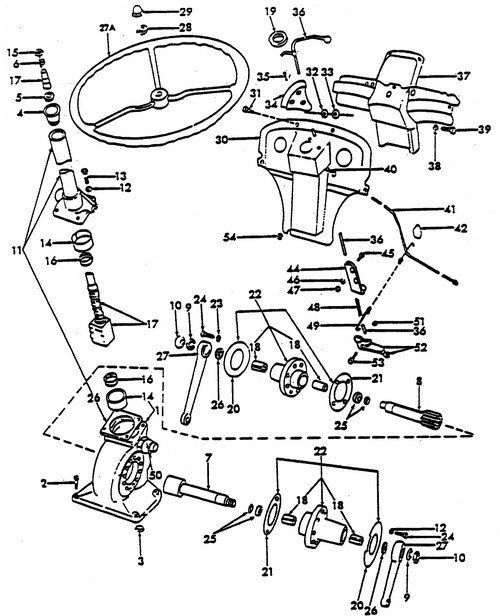 xl1918 ford 3000 tractor wiring harness diagram schematic