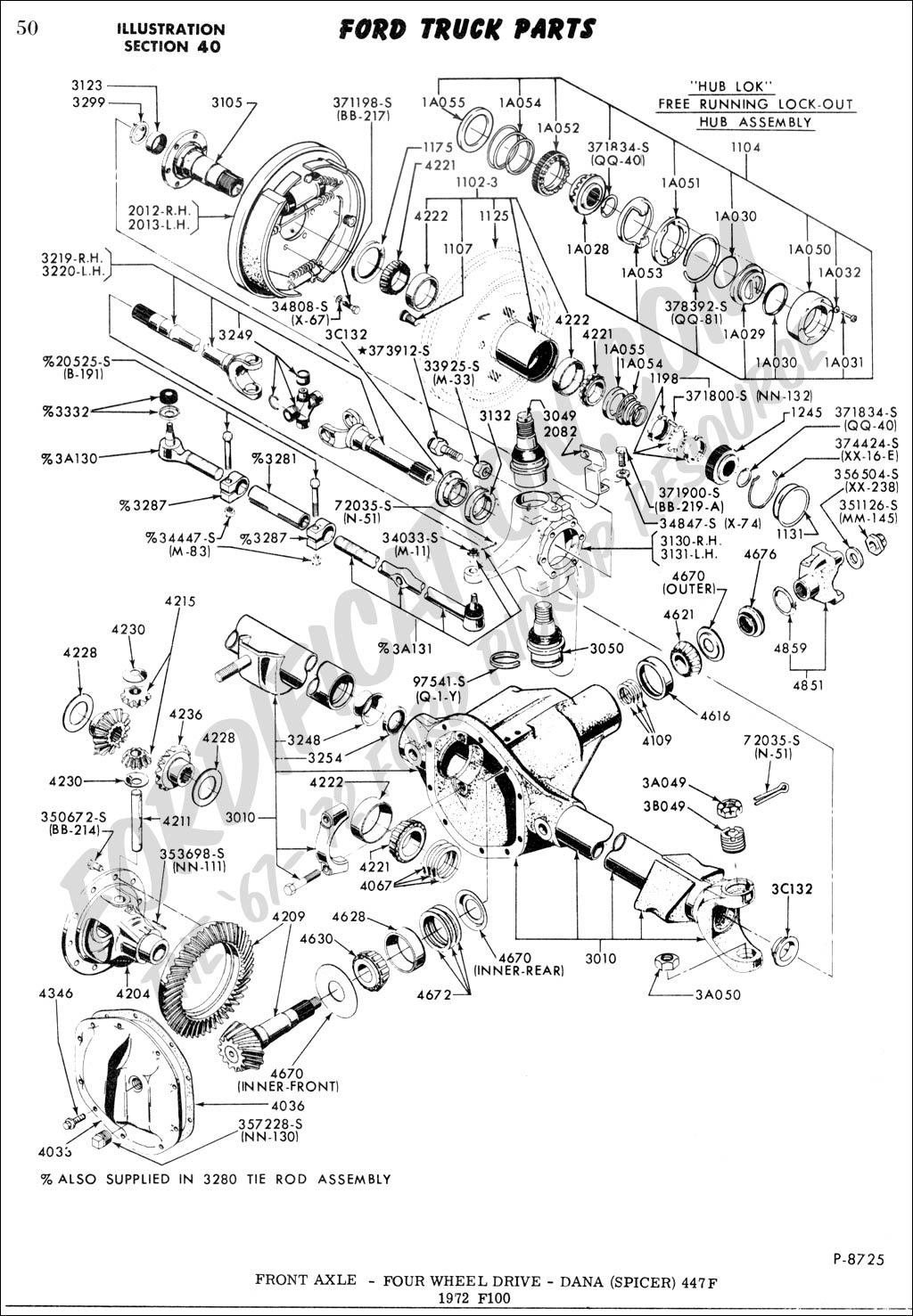 Db Dana 44 Front Axle Diagram Schematic Wiring