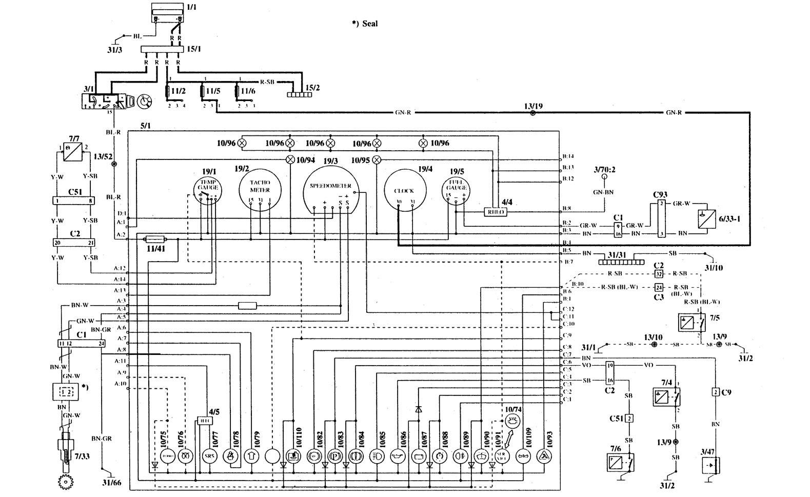 Diagram Volvo 940 Overdrive Wiring Diagram Full Version