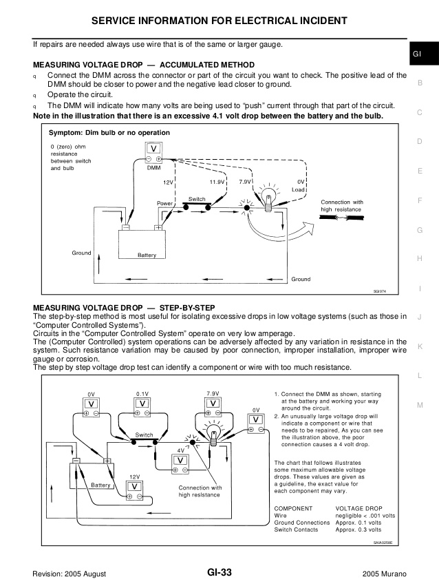 2005 nissan murano engine diagram battery 1991 ford
