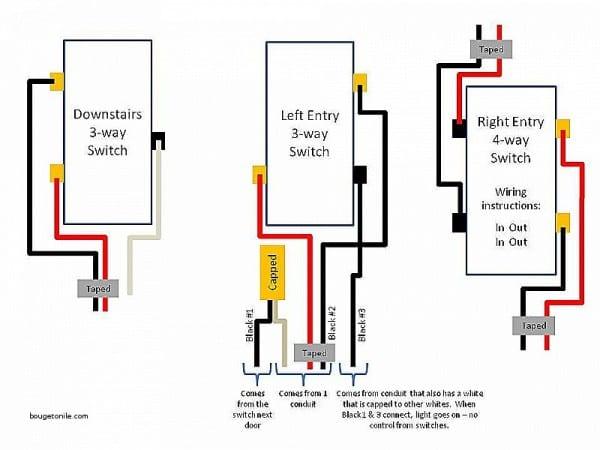 leviton decora 4 way switch wiring diagram  ford radio