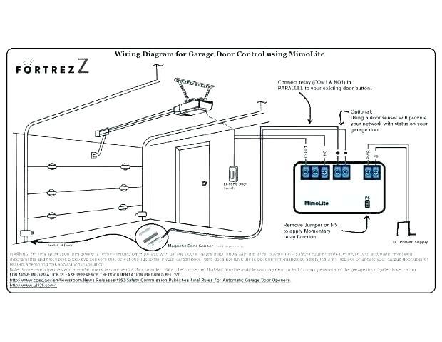 diagram garage door safety eye wiring diagram full version