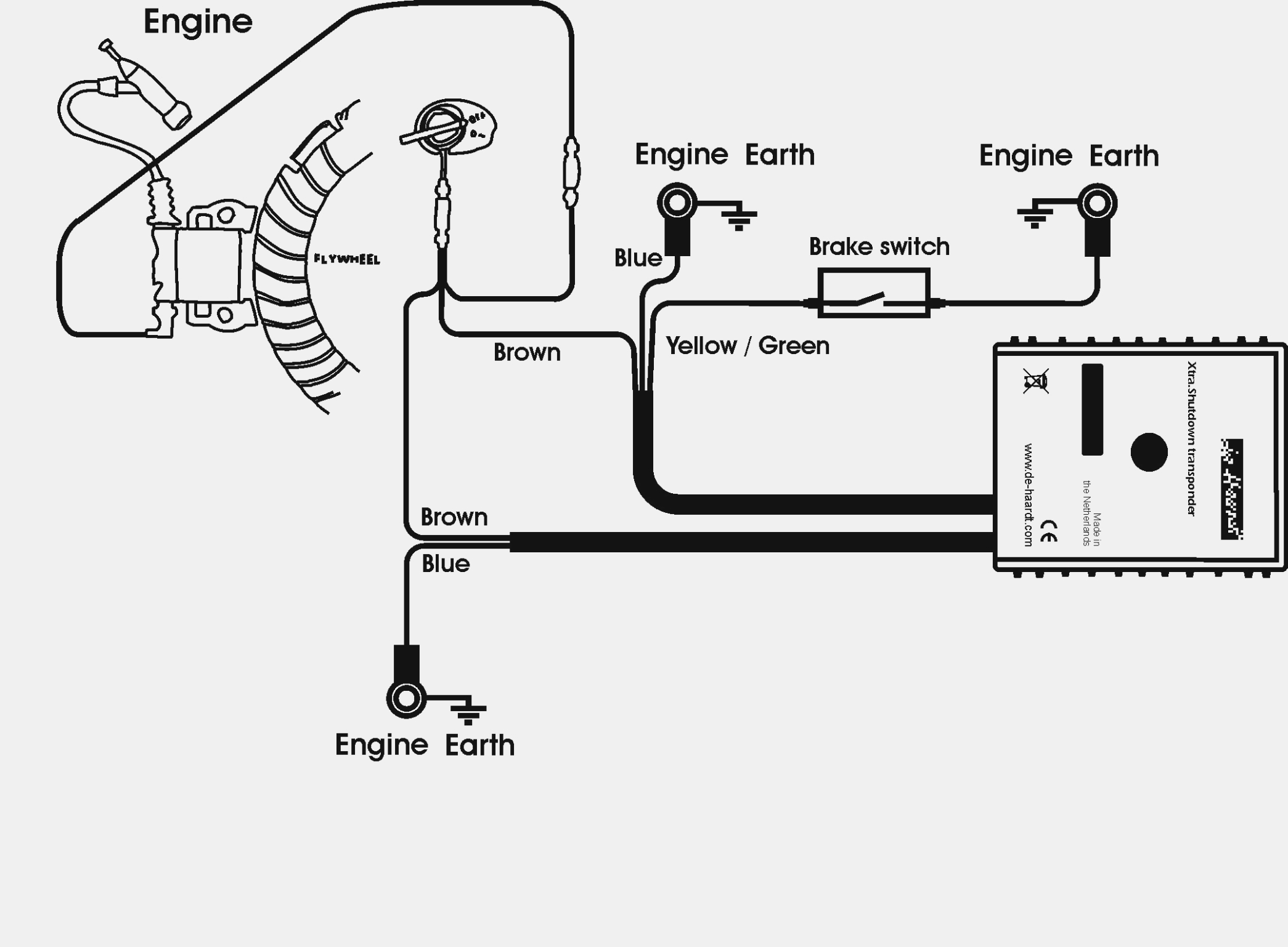 Honda Gx270 Electric Start Wiring Diagram