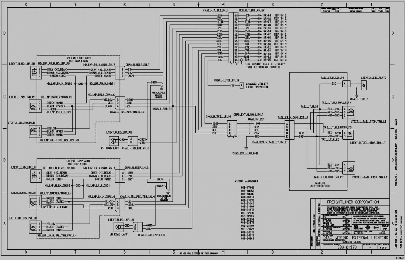 Freightliner Fld120 Wiring Diagram