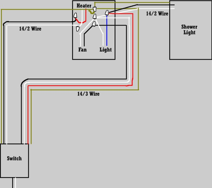 Wiring Nutone Exhaust Fan With Light