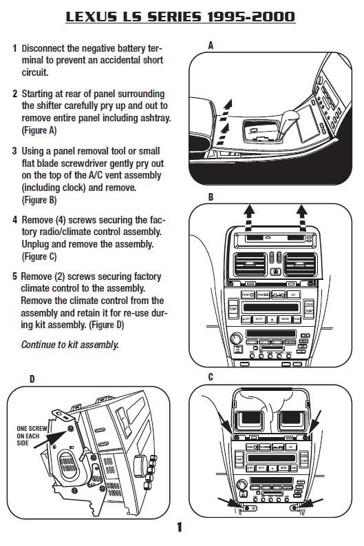 diagram 1998 lexus ls 400 radio wiring diagram full version