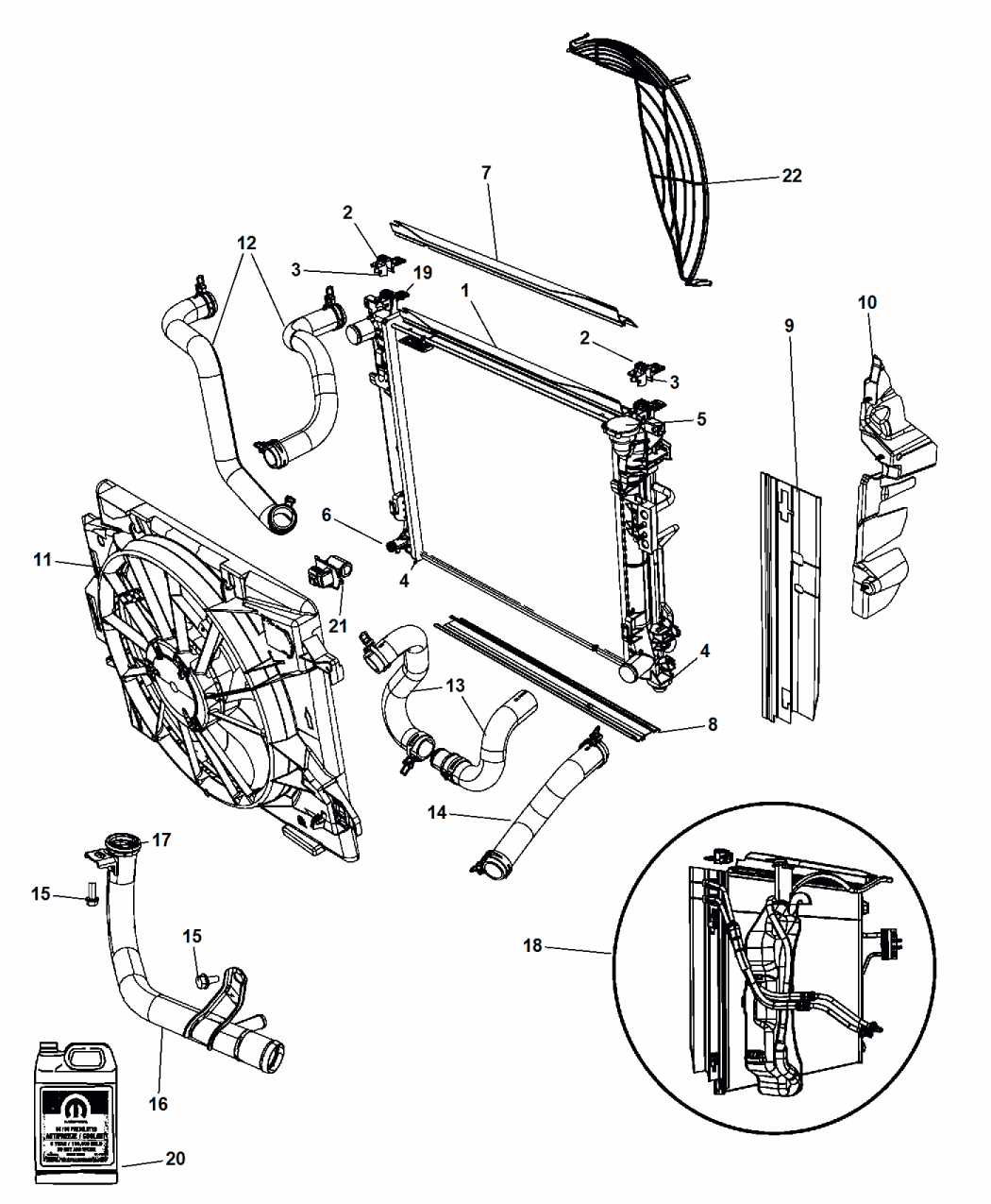Chrysler Town And Country Cooling System Diagram