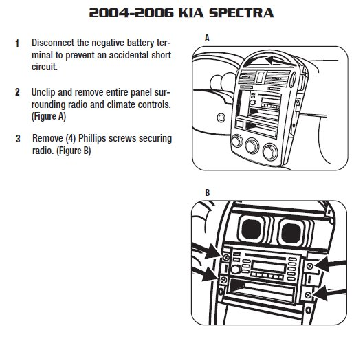 2006 kia spectra stereo wiring diagram  grand am gt wiring