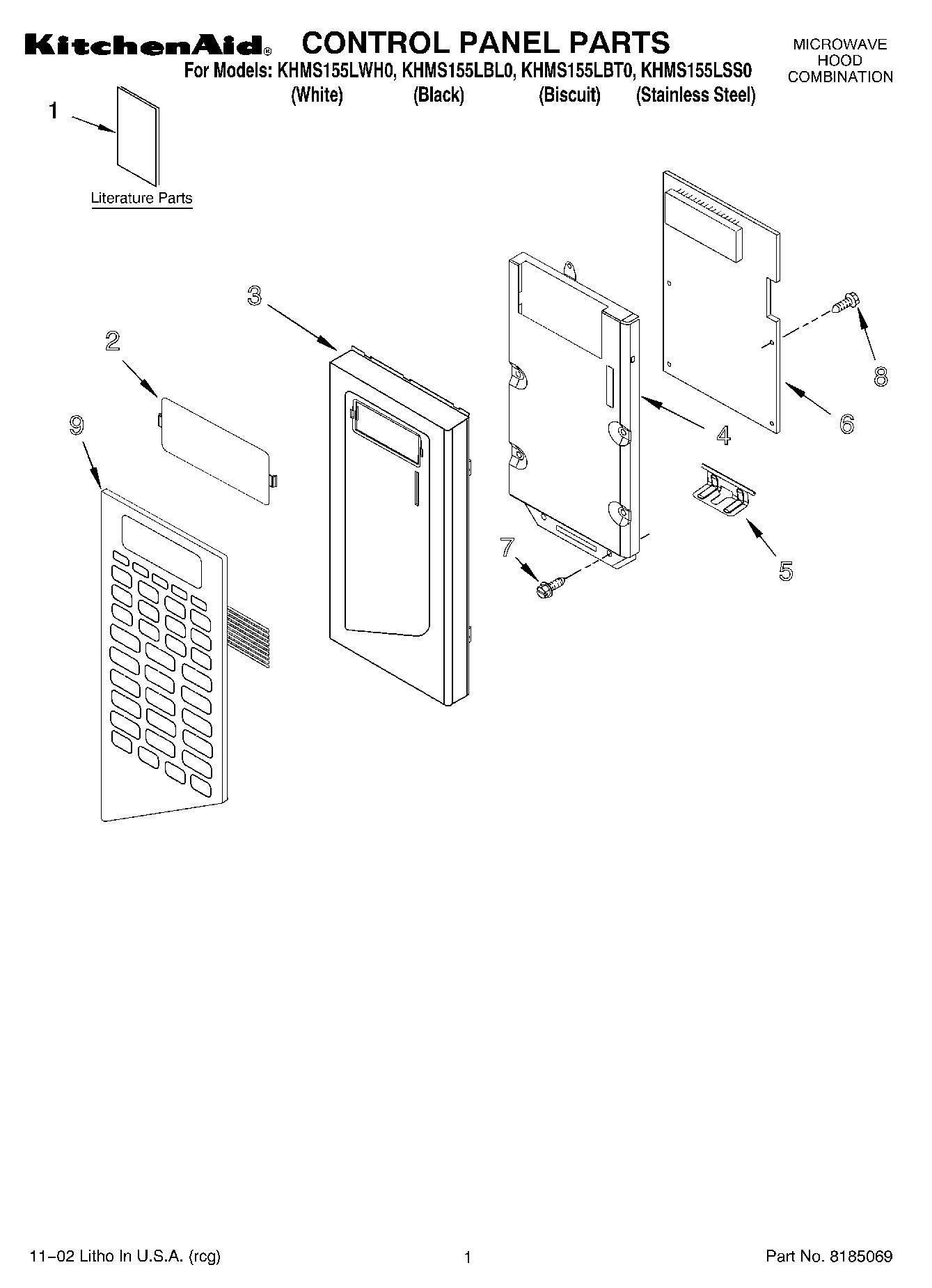 Kitchenaid Microwave Wiring Diagram