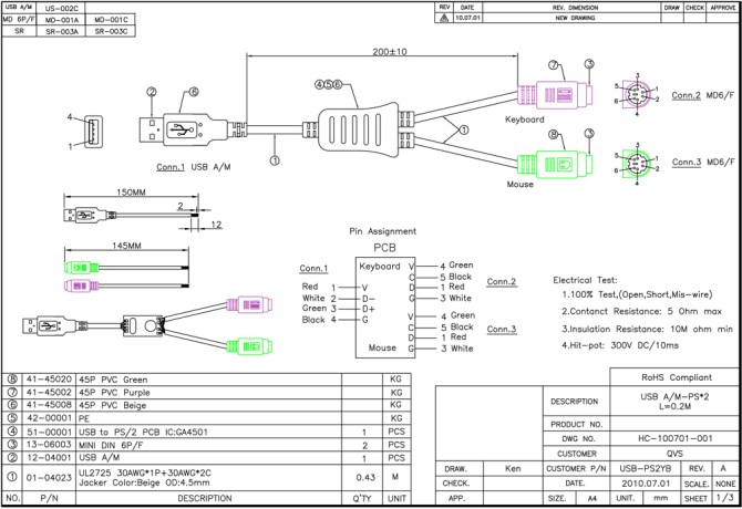usb to ps2 wiring diagram  home network wiring layout