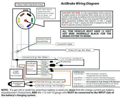 impulse trailer brake controller wiring diagram  12v