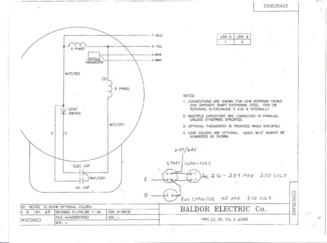 5 hp baldor capacitor wiring diagram  schematic wiring