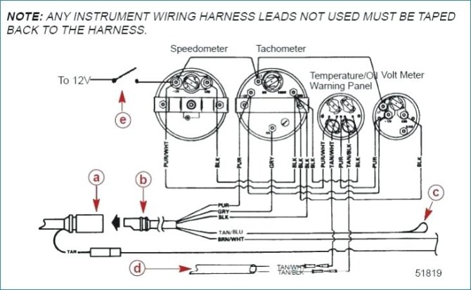 115 yamaha outboard gauge wiring diagram free picture