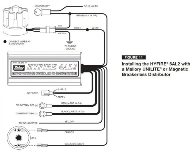 ford mallory ignition wiring diagram  caterpillar c15