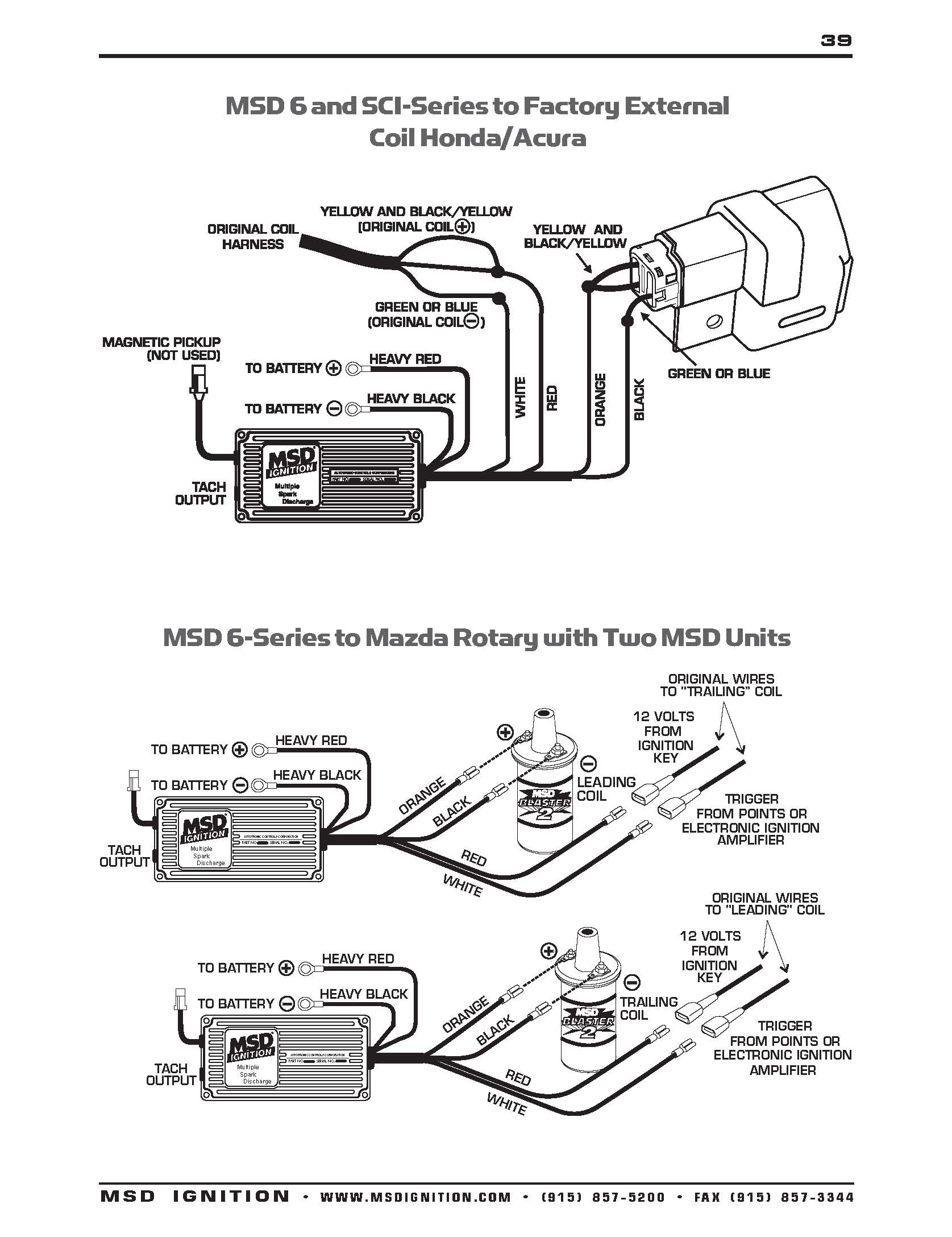 Msd 6 Offroad Ignition Wiring Diagram