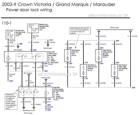 2003 mercury grand marquis headlight wiring diagram  wiring