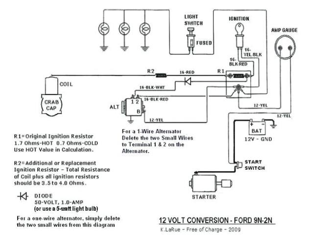 1942 ford 9n tractor wiring diagram  center wiring diagram