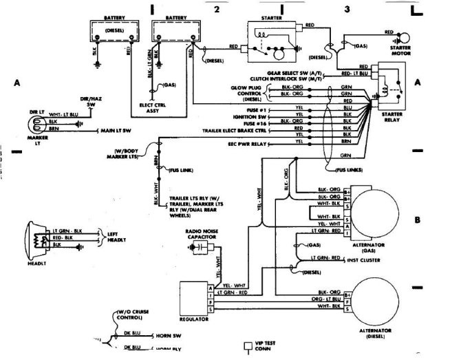 ford wiring harness diagrams 1988  save wiring diagrams