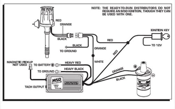 msd 8360 distributor wiring diagram 6a  schematic wiring